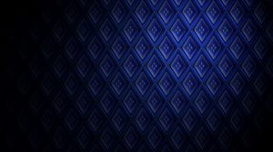Preview wallpaper texture, pattern, 3d, surround, blue
