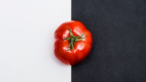 Preview wallpaper tomato, vegetable, minimalism
