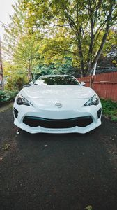 Preview wallpaper toyota, car, sports car, front view