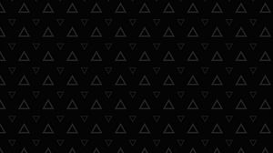 Preview wallpaper triangles, patterns, texture, black