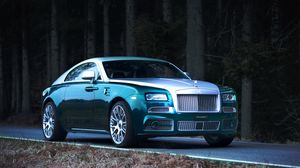 Preview wallpaper tuning, mansory, coupe, rolls-royce, wraith