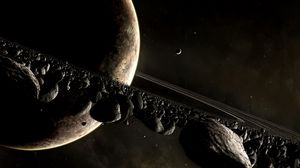 Preview wallpaper universe planet, planet, disaster, space