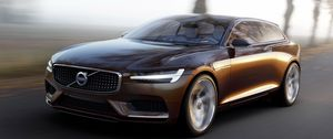 Preview wallpaper volvo, concept, estate, 2014