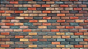 Preview wallpaper wall, stone, brick, background, texture
