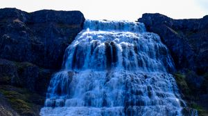 Preview wallpaper waterfall, current, water, breakage