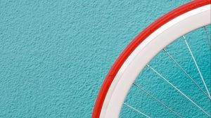 Preview wallpaper wheel, wall, minimalism, spoke, tire