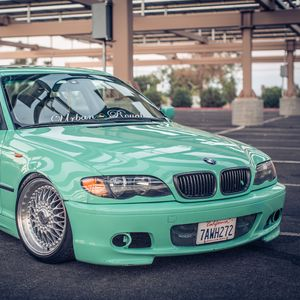 Preview wallpaper wheels, triple, 3 series, stance, 325i, e46, bmw