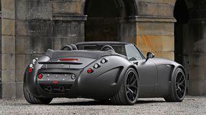 Preview wallpaper wiesmann, roadster, mf5 v10, black, bat