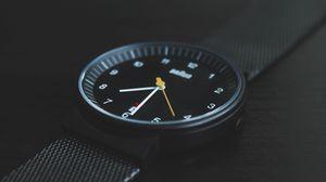 Preview wallpaper wrist watch, dial, style, strap