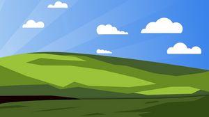 Preview wallpaper xp, windows, vector
