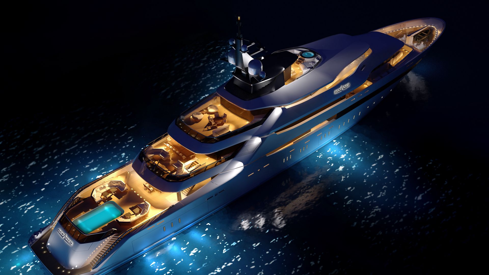 1920x1080 Wallpaper yacht, concept, luxury