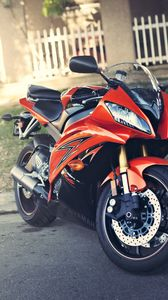 ... Preview Wallpaper Yamaha, Yzf R6, Red, Motorcycle